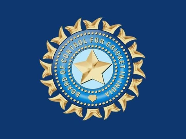 The logo of the Board of Control for Cricket.