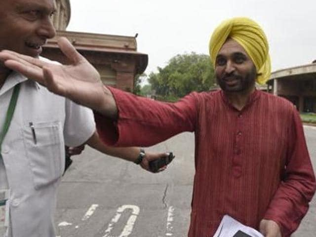 Punjab police have registered a case against Mann on the complaint that he and his supporters allegedly misbehaved with mediapersons at a rally in Bassi Pathana in Fatehgarh Sahib district on September 1.