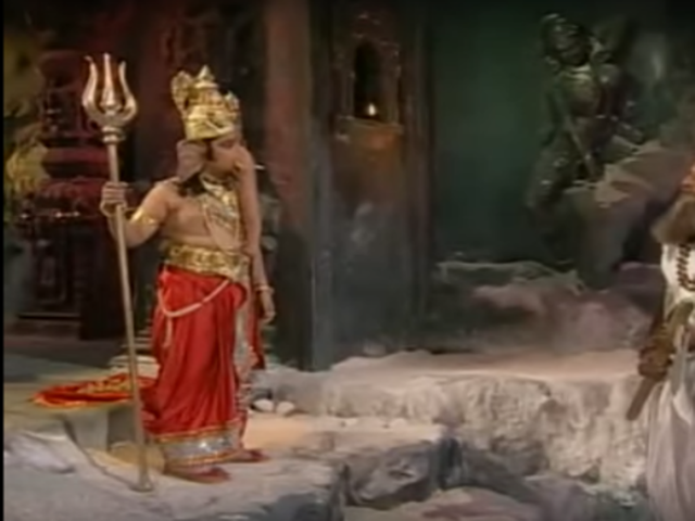 Actors such as Jagesh Mukati and Alpesh Dhakan have played Lord Ganesha on television.