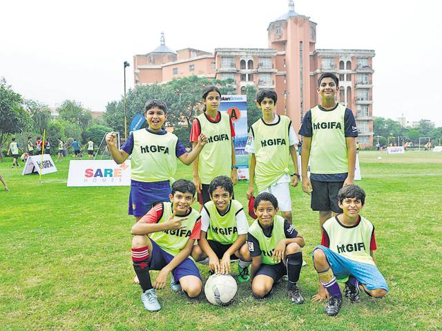 HT Great Indian Football Action(GIFA)