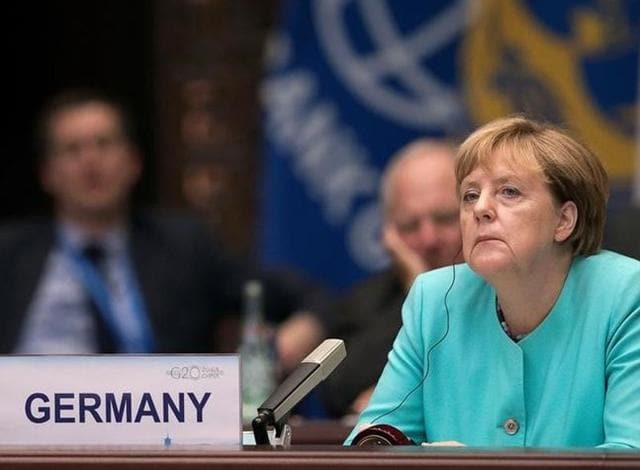Bad news from home for Merkel.