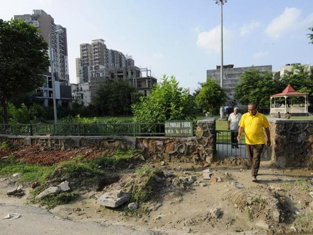 All six parks are in deplorable state due to lack of maintenance, say residents.