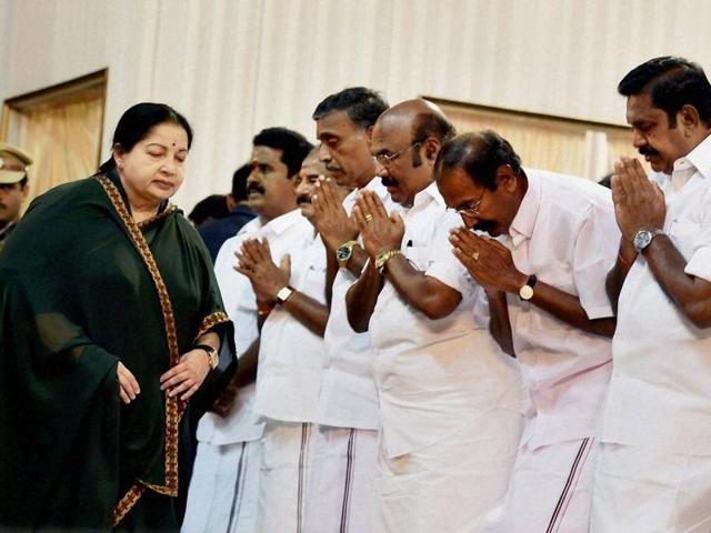 The praise of Jayalalithaa is a monomania that has infected the AIADMK for far too long now. This is not to say that political hyperbole is new to the state. The influence of films and the sycophancy associated with it has been seen in the past.