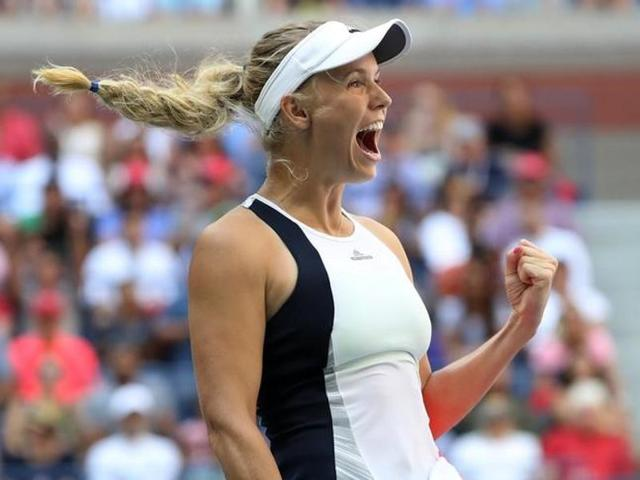 Wozniacki is back in the quarterfinals of a Slam for the first time since her runner-up finish in New York in 2014.