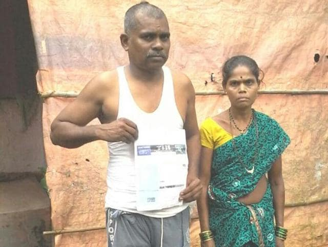 Ramu Kodya Hemada said he walks to the power company's office every week and pleads with the officials to restore his power connection but nobody has helped him as yet.