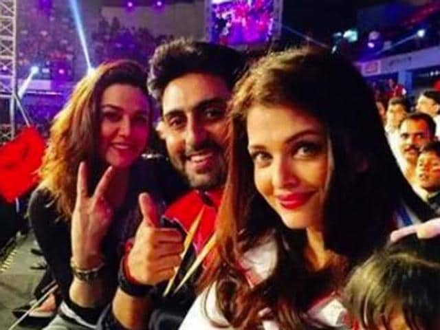 Zinta tweeted on Monday that she has developed a girl-crush on Aish after seeing her in the trailer for Ae Dil Hai Mushkil. What's more? She tagged Abhishek Bachchan in the tweet to rub it in some more.