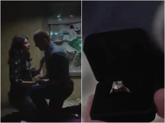 The short, 30-second teaser revealed by lead star of the show, Priyanka Chopra, on Monday has her running around, punching masked terrorists in the face and get floored by Ryan's proposal!