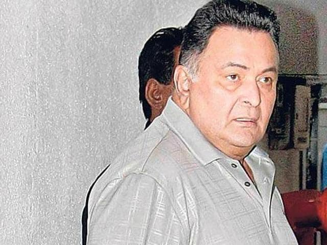 Rishi Kapoor played Rauf Lala in Agneepath. (HT Photo)