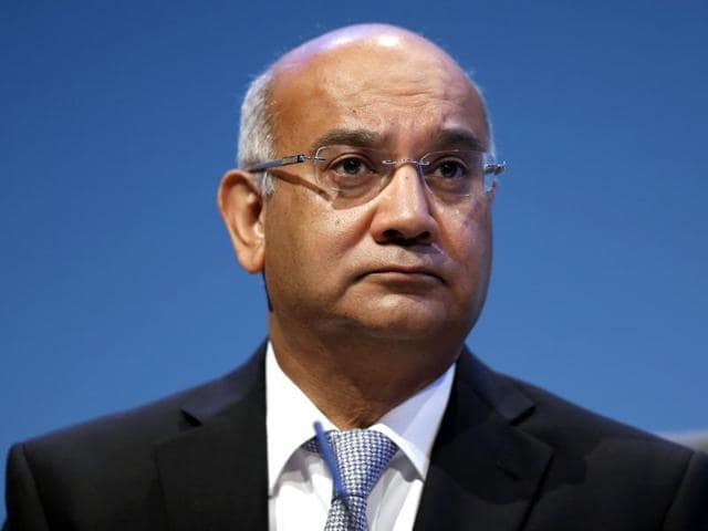 British opposition Labour Party MP Keith Vaz leaves his home in northwest London on Tuesday.