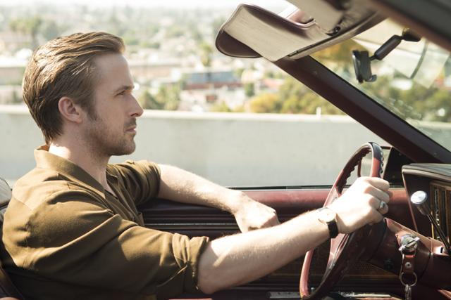 This image released by Summit Entertainment shows Ryan Gosling in a scene from La La Land, in theatres on December 2.