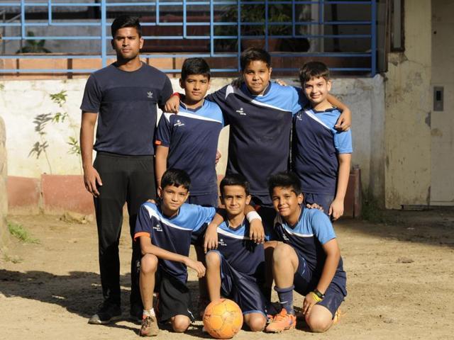 Stellar football club,Amrapali Village Indirapuram,HT GIFA