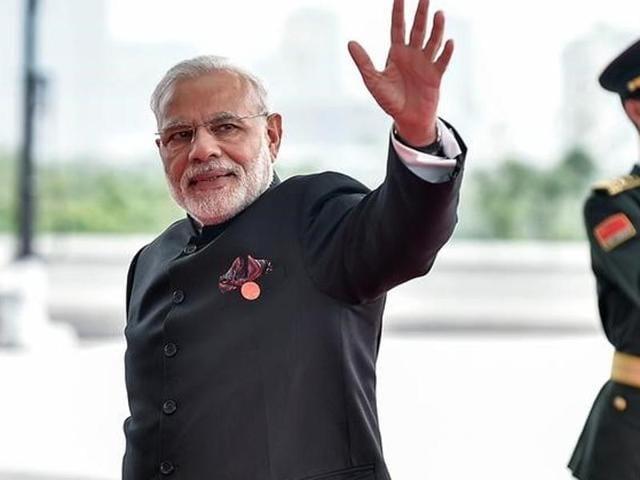 Prime Minister Narendra Modi in the BRICS meeting in Hangzhou, China.