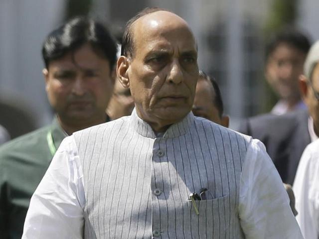 Rajnath Singh briefs PM Modi,Prime Minister Narendra Modi,Kashmir unrest