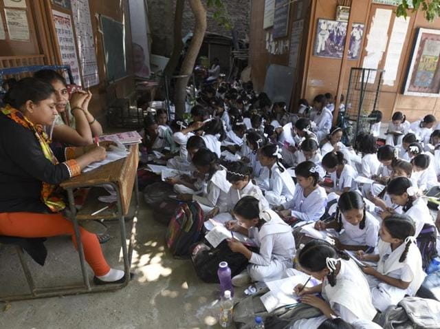 A Unesco report has said that according to the current trend, India will be half a century late in achieving its global education commitments.