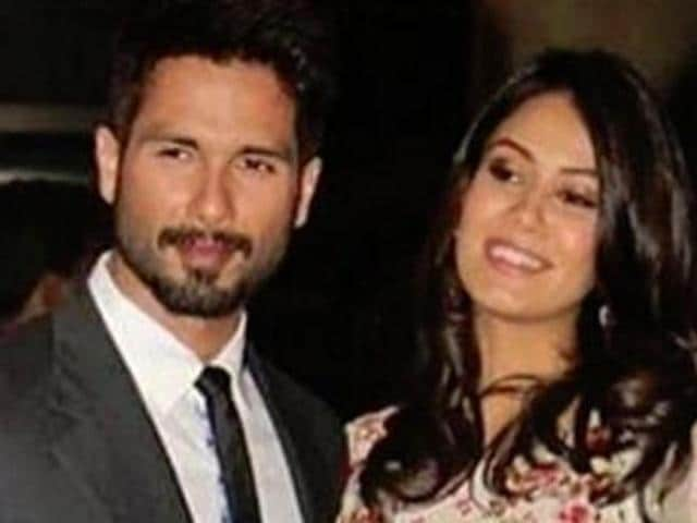 Shahid and Mira recently welcomed their first daughter.