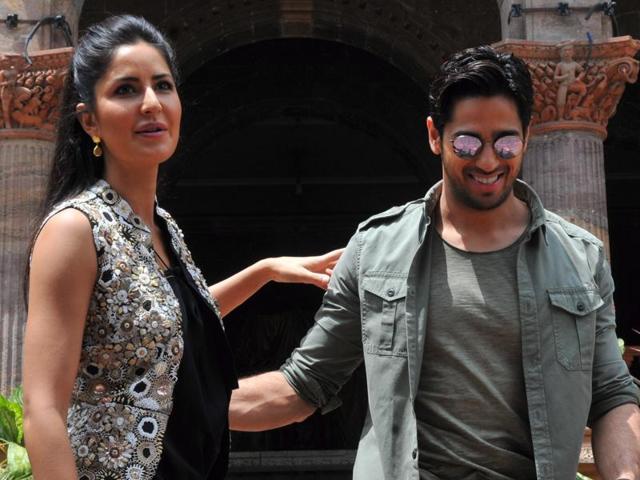Bollywood actors Sidharth Malhotra and Katrina Kaif have been promoting their upcoming film Baar Baar Dekho.