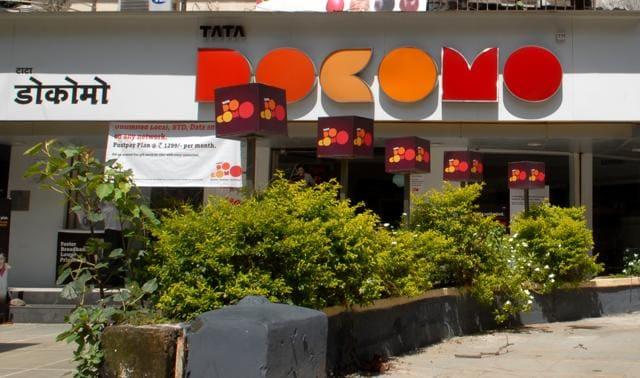 A Tata Docomo gallery in New Delhi.