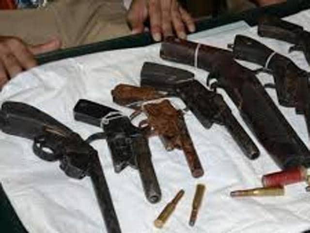 File picture of a gun factory in Munger, Bihar