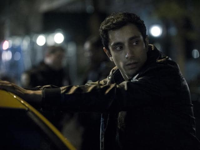 Riz Ahmed gets arrested on the night of the murder.