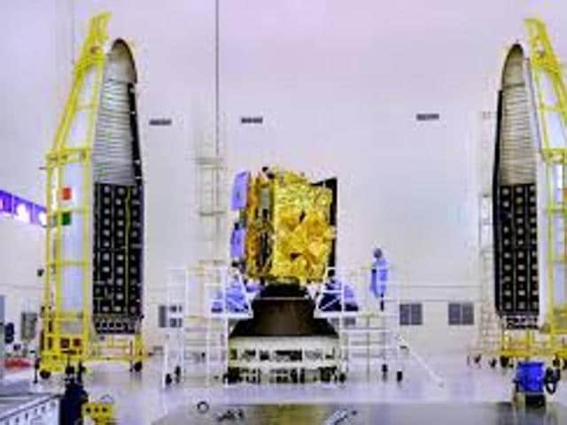 The advanced weather satellite will be launched on Thursday from Sriharikota.