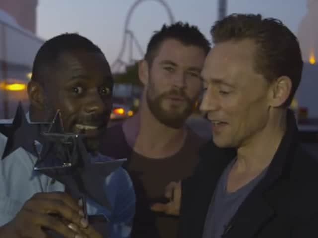 Idris Elba, Chris Hemsworth and Tom Hiddleston will reprise their roles in Thor: Ragnarok.