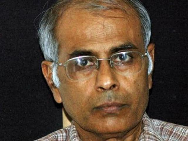 A file photo of rationalist Narendra Dabholkar.