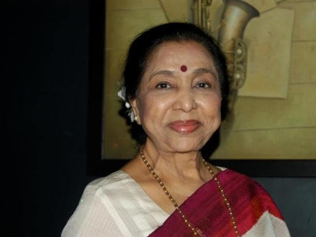 Asha Bhosle's dignity belies the rough patches in her long and eventful life.