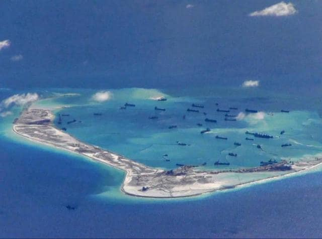 Asian island construction