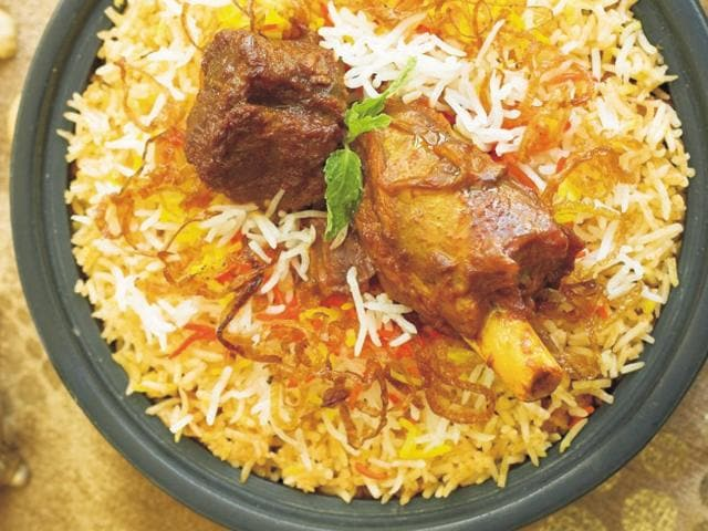 Some samples of biryani were collected from Mewat after complaints of beef being added to the dish came in.(File photo)