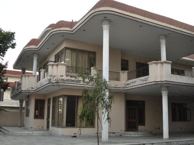 One of the houses shortlisted for Kejriwal, near Goraya in Jalandhar.
