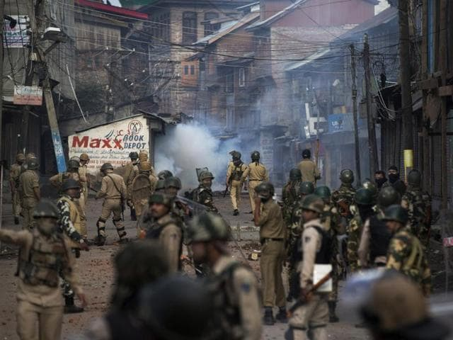 At least 75 people have lost their lives and over 10,000 injured in violent clashes between the security forces and civilians in Kashmir.