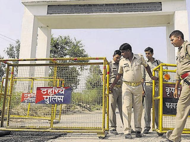 A 38-year-old primary school teacher Manoj Sisodiya was found murdered near his residence Thursday morning at Bisada village.