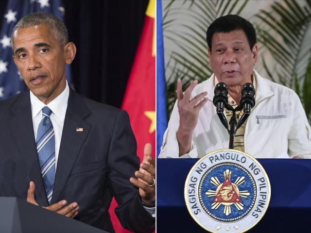 Obama-Duterte,Hillary Clinton,Barack Obama