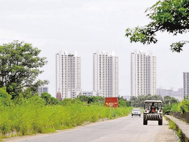 Officials say , about 40 builders in Greater Noida have stopped work midway on 95 group housing projects as they do not have funds to carry on with the construction.