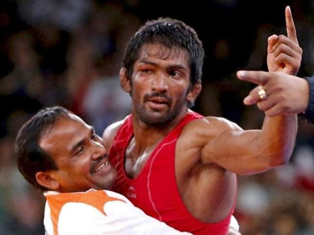 Dutt after his bronze medal win in London. UWWconfirmed on Tuesday that Toghrul Asgarov had not committed a doping violation.