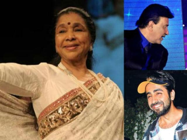 On Asha Bhosle's 83rd birthday, Ayushmann Khurrana, Anu Malik and Aman Trikha pay tribute to the iconic singer.