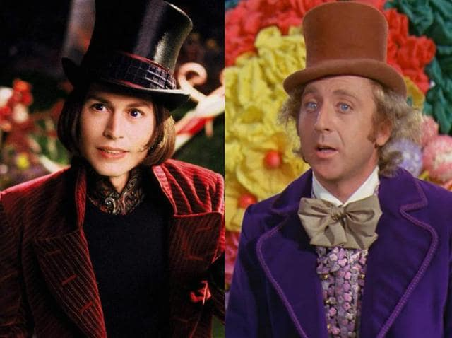 Depp's Charlie and the Chocolate Factory was released in 2005 and starred Helena Bonham Carter, Adam Godley, Freddie Highmore and David Kelly.