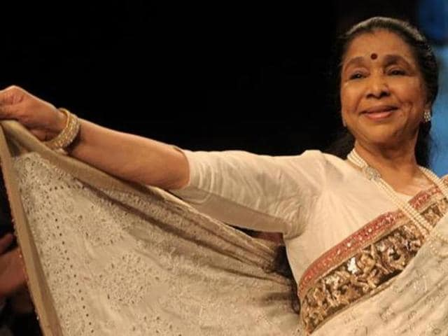 Even at 83, Asha Bhosle's voice is as fresh as ever.