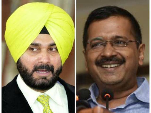 All eyes are on Navjot Singh Sidhu and Arvind Kejriwal