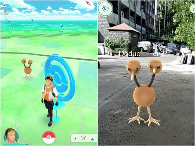 Pokemon Go is an augmented reality game that involves catching pokemons at different locations.