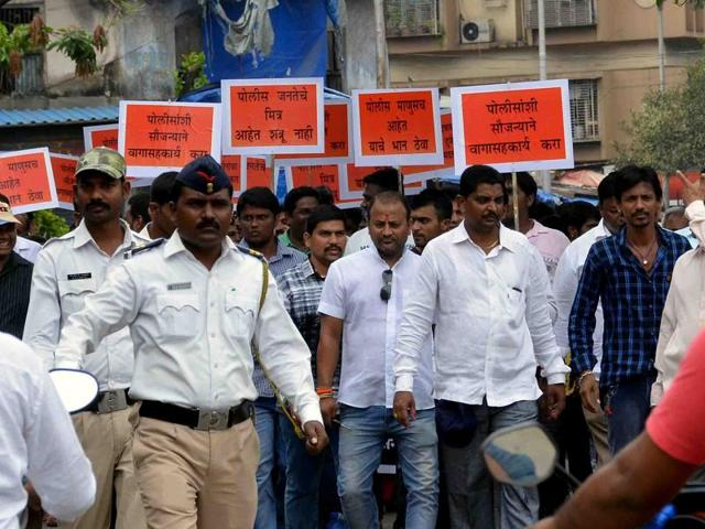 Several NGOs took out a rally on Wednesday to protest against the rising attacks on police personnel across  the city.