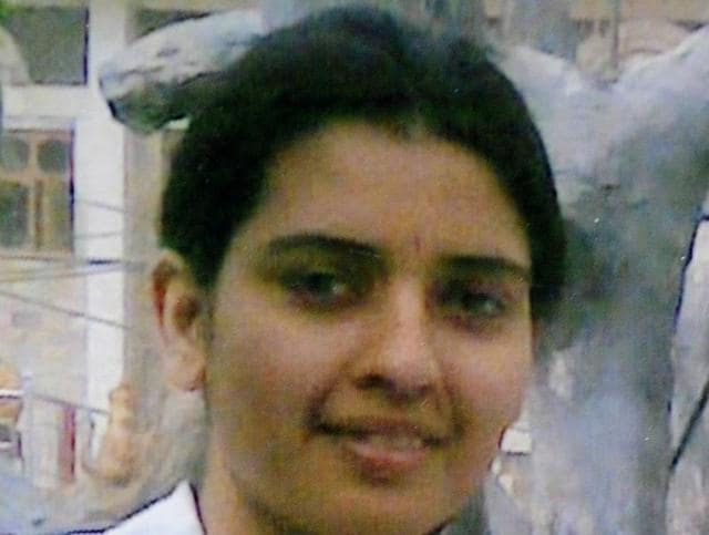 Preeti Rathi, a nurse from Delhi, was attacked by a stalker in Mumbai on May 2, 2013. She died of multiple organ failure a month later. (Sunil Saxena/ HTPhoto)