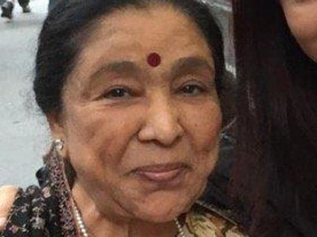 Asha Bhosle at Mumbai airport earlier in August. The singer turns 83 on Thursday.