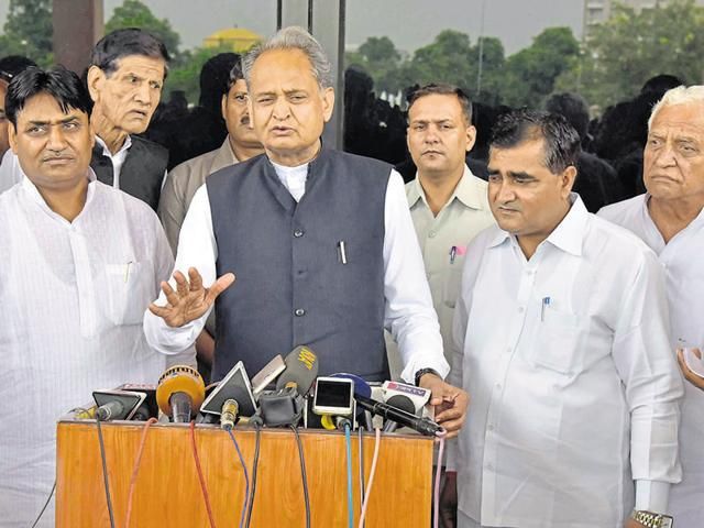 Ashok Gehlot will host the first dinner in the state.
