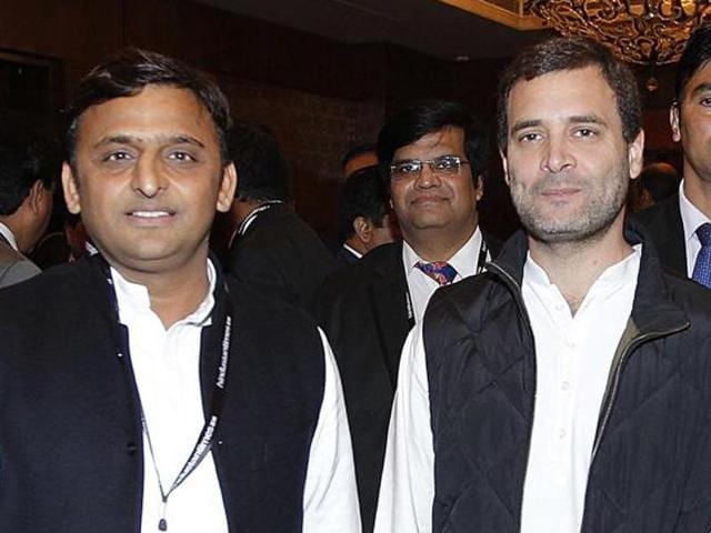 Uttar Pradesh chief minister Akhilesh Yadav said it was alright to be friends with Rahul Gandhi.