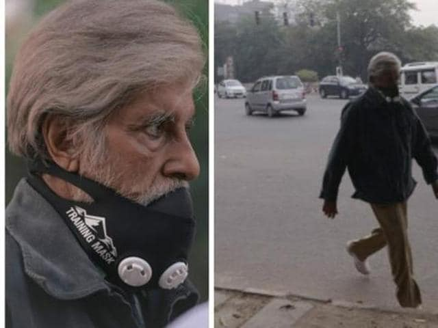 Amitabh Bachchan wore a mask and walked the streets of Delhi for Shoojit Sircar's new film Pink. No one realised that the actor was walking among them. (Amitabh Bachchan's blog)