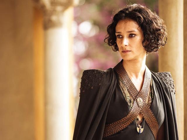 Indira Varma plays Ellaria Sand in