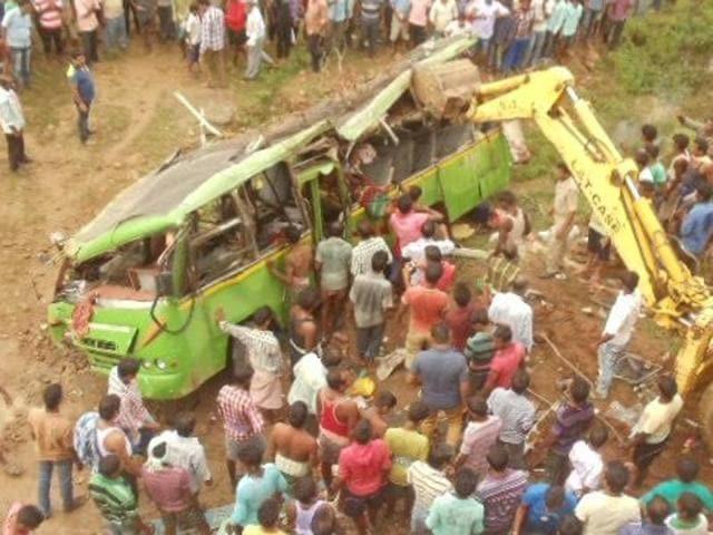 Odisha bus accident,Bus accident in Odisha,Odisha accident death toll