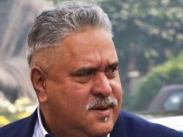 In this file photo, industrialist Vijay Mallya arrives at Parliament in New Delhi.