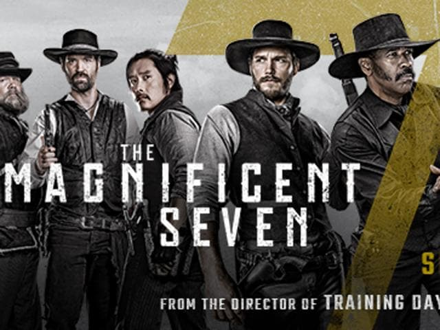 Antoine Fuqua's Magnificent Seven is a remake of 1960 Western The Magnificent Seven and stars Denzil Washington.